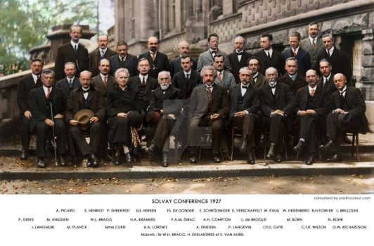 Solvay Conference 1927 by Linux4SA