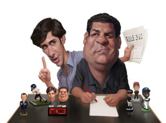 Mike and Mike by infernovball
