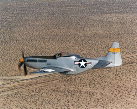 North American P-51D Mustang NACA-127 by GeneralTate