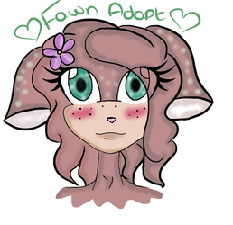 Fawn Adopt by Sophiecinders14