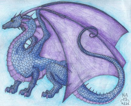 Ruined dragon by Scellanis