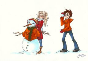 Winter comp - percabeth by xxx-JEM-xxx