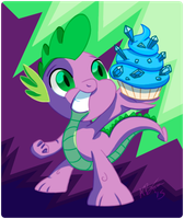 Spike Day 2015 by AffinityShy