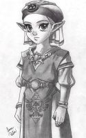 Young Princess Zelda (Edit) by AnnaMarie1994