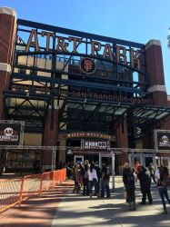 Willie Mays Plaza Entrance at the Ballpark by sfgiants58