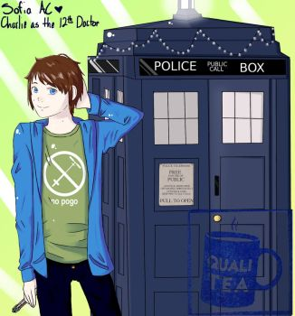 The 12th Doctor - CHARLIE MCDONNELL by keiko-chan13