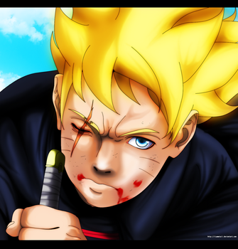 Hero of the Byakugan, Uzumaki Boruto by IIYametaII