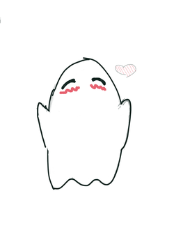 Ghost Loves You by PenguLePenguin