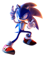 Sonic The Hedgehog by Fentonxd