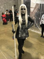 White Walker at Awesome Con 2018 by rlkitterman