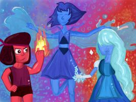 Elemental Gems by cobralash