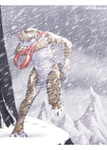 This deadly burst of snow is burning my hands by blackunia