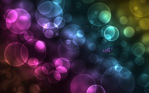 Colorful City Lights wallpaper by anca-v