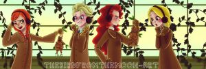 The super six AU hogwarts: Herbology at Hogwarts! by TheBirdFromTheMoon