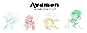 Avamon: The Last Dorkbender by jessiedoll