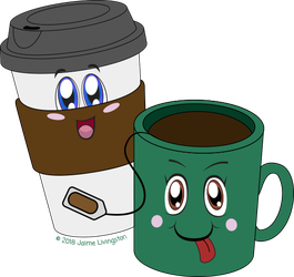Coffee and Tea by MeMiMouse