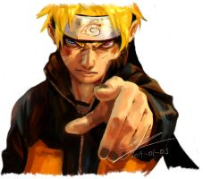 Naruto Uzumaki Fan Art by Camilozz
