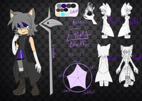 Emma black fire ref by AK-47x