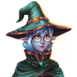 Nina the witch by foxlau