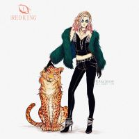 Cat lover by Heylenne