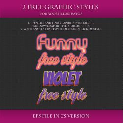 FREE Graphic Styles for Adobe Illustrator #15 by Love-Kay