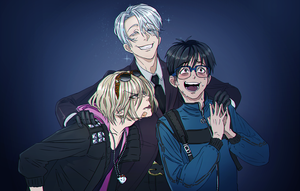Yuri on ice by Vitashka