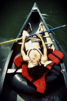 Canoeing by boogiepop