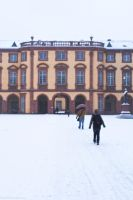 Snow at Mannheim Castle by rindlim