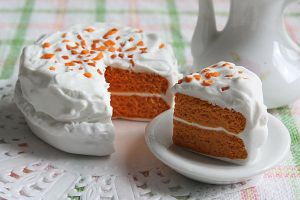 Carrot Cake - Clay Miniature by thinkpastel