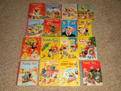 My Teddy Tail Annuals and Storybooks by The-WaxBadger
