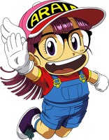 Dr Slump - Arale 1 by superjmanplay2