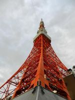 Tokyo Tower by TheNamelessLiberty