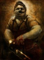 leatherface by dhayman85