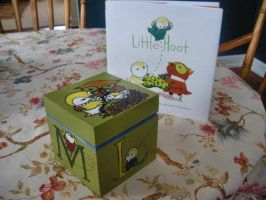 Little Hoot - Painted Box by Sidhe-Etain