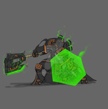 Troop Hammer / AXE by haloowl