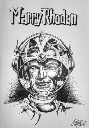 Marry Rhodan by Hucklemary