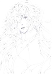 Ruler - Fate/ Apocrypha Sketch by psychokitty86