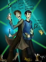 Spocktor Who by theTieDyeCloak