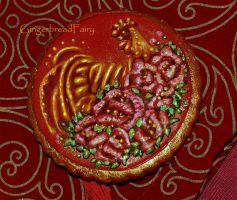 Happy Chinese New Year. Rooster by GingerbreadFairy