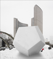 The 10m Snow Dodecahedron by ZanaGB
