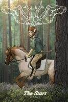 Oxford's Outlaws, Book 1 cover by Banjoplaying-Centaur