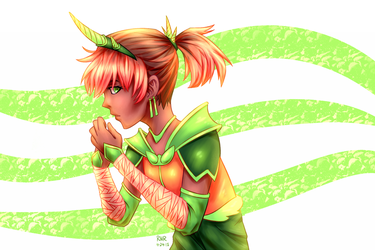 Forest Guard by 3Beccaboo