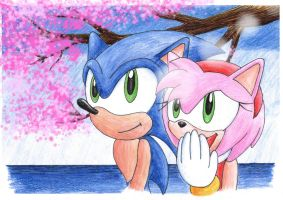 Cheery Blossoms by mptails