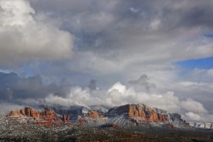 Red Rocks of Sedona by papatheo