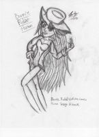Bunnie Rabbot-Human Uncolored by Candy-Ice