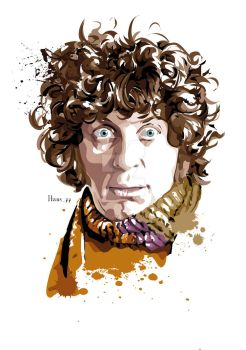 The Forth Doctor Who by hansbrown-77