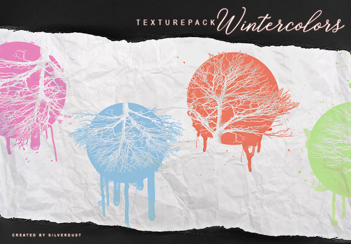 Texturepack - Wintercolors| by SilverDust by Marevasart
