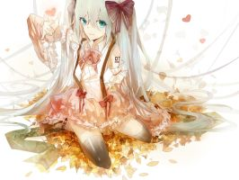 Hatsune Miku2 by ll4cell