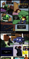 Undertale Comic: Hiding by IvyLeafTea