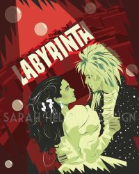 Labyrinth poster by SarahHedlundDesign